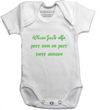 New Baby rompertje bedrukken | Romper met naam of tekst #HY57